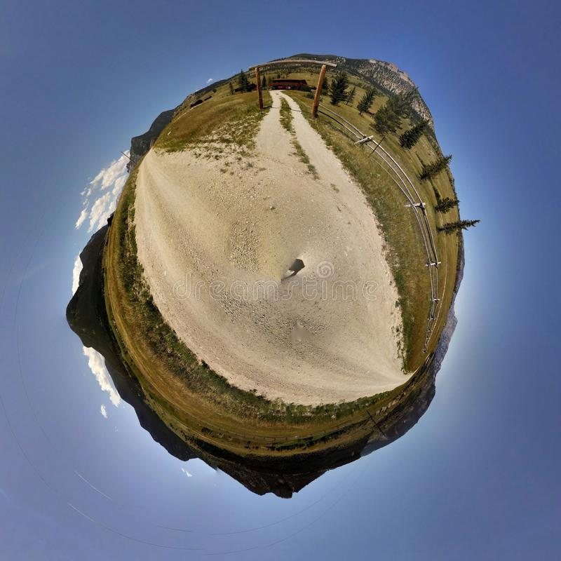 De Fotogebied van Wyoming royalty-vrije stock foto's