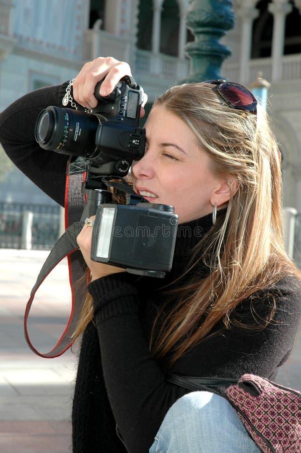 De Fotograaf van de manier stock afbeeldingen