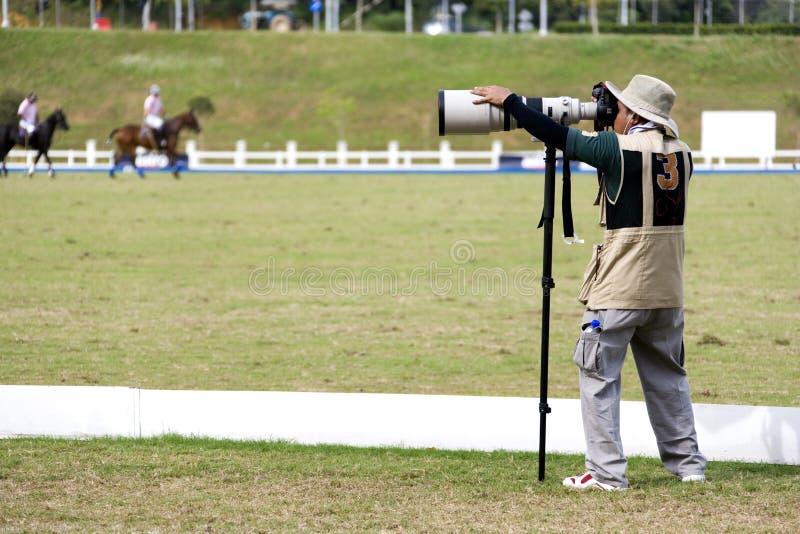 De Fotograaf van sporten royalty-vrije stock foto's