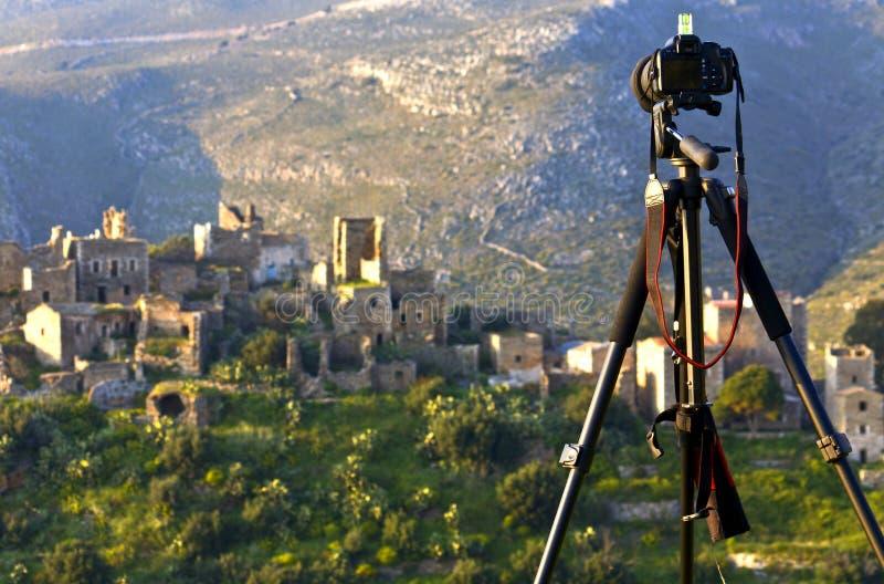 De fotografie van het landschap stock foto