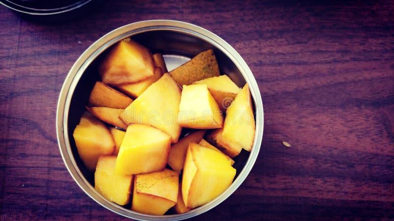 De fotografie van het mangovoedsel stock foto