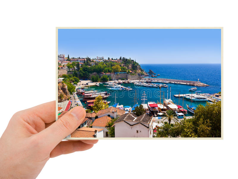 De fotografie van Turkije van Antalya ter beschikking stock afbeelding