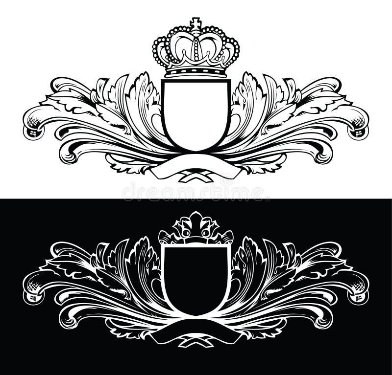 De Frames van één Koning van de Kleur stock illustratie