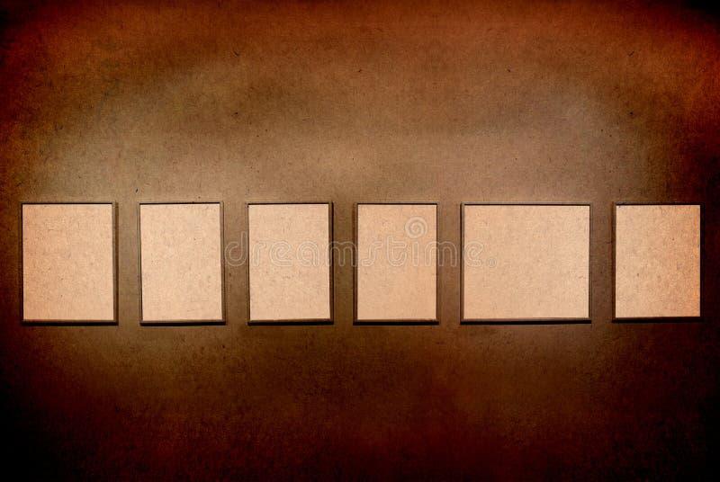 De frames van de tentoonstelling royalty-vrije illustratie