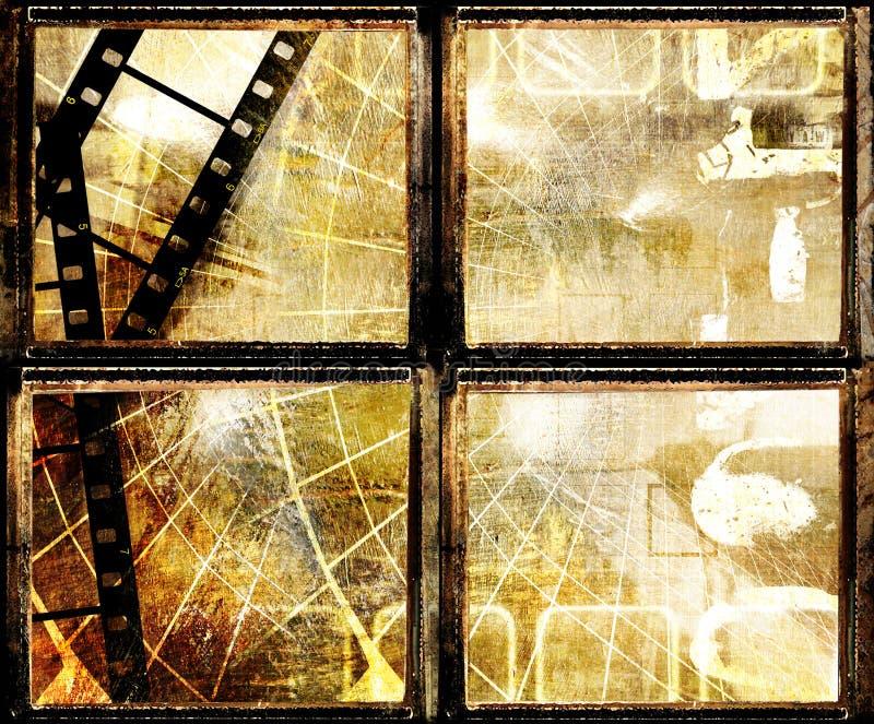 De frames van Grunge royalty-vrije illustratie