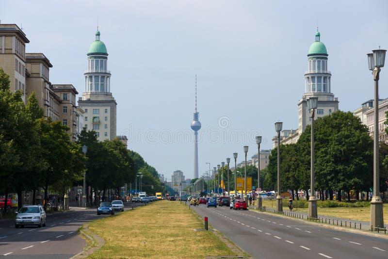 De frankfurterworstpiek (de Poort van Frankfurt) stock afbeelding