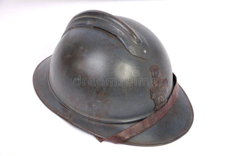 De Franse Grote helm van de Oorlog stock fotografie