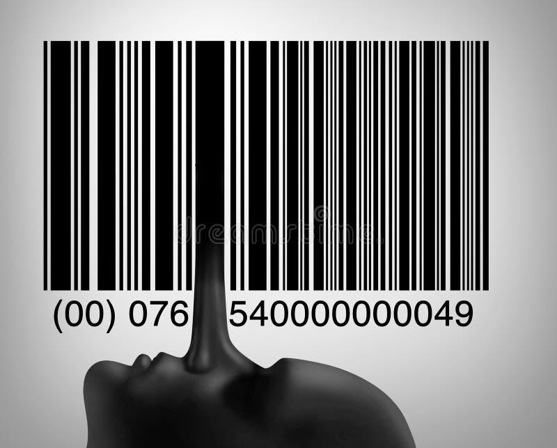 De Fraude van de consument royalty-vrije illustratie