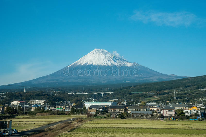 De fujiberg in Japan stock foto