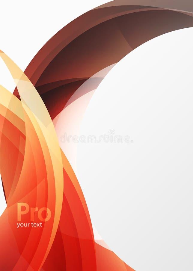 De futuristische hi-tech abstracte achtergrond van de glasgolf Kleuren curvy lijn met glanzend effect vector illustratie