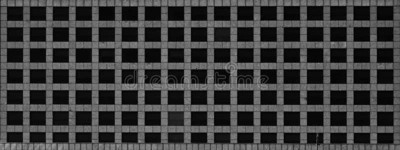 De fyrkantiga fönstren royaltyfria foton