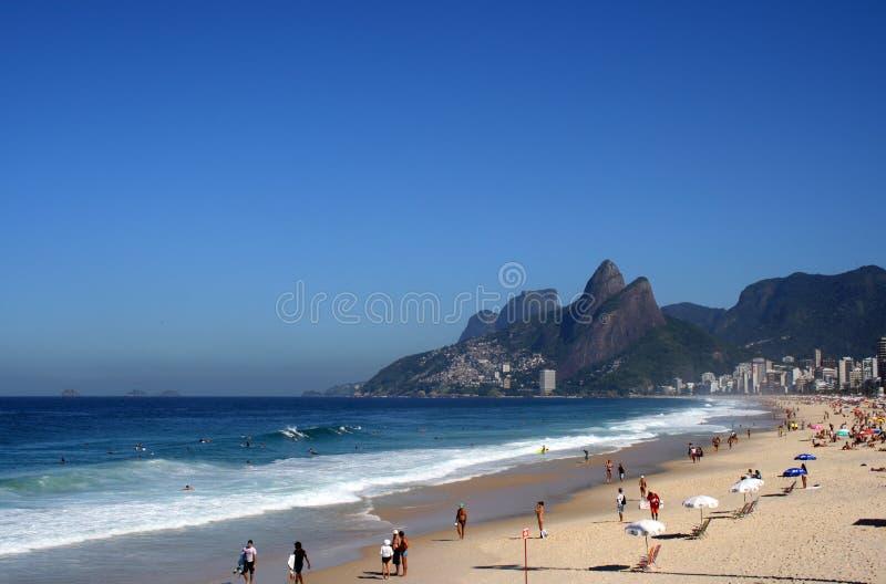 De fysionomie van Rio stock fotografie
