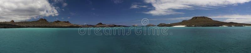 De Galapagos Panarama royalty-vrije stock afbeelding