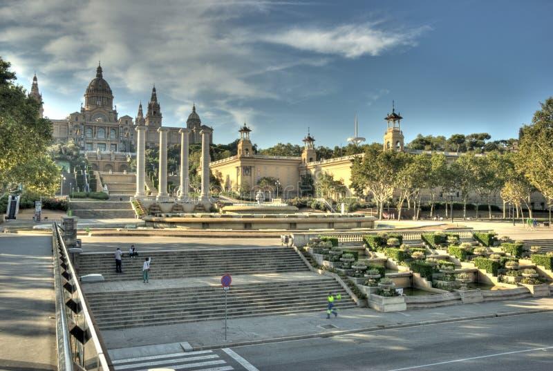 De galerij HDR van Barcelona royalty-vrije stock foto's