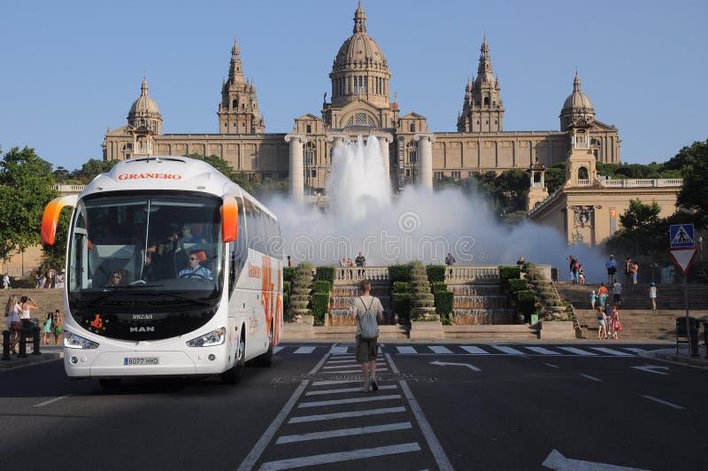 De galerij van Barcelona royalty-vrije stock afbeeldingen