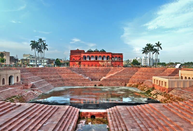 De Galerij van het Hussainabadbeeld, Lucknow stock fotografie