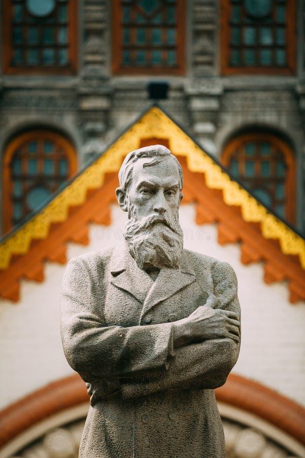De Galerij van Tretyakov van de Staat is een kunstgalerie in Moskou, Rusland, stock fotografie