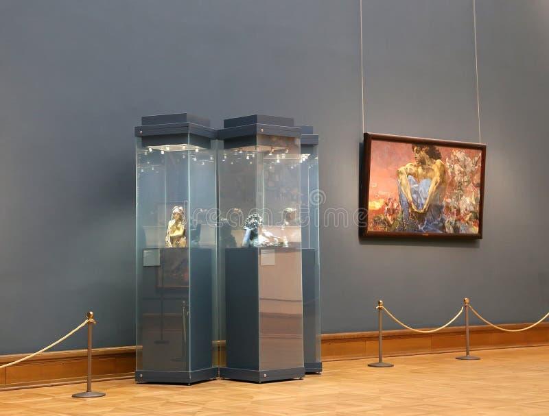 De Galerij van Tretyakov van de staat is een kunstgalerie in Moskou, Rusland, de belangrijkste opslagruimte van Russische fijne k stock foto's