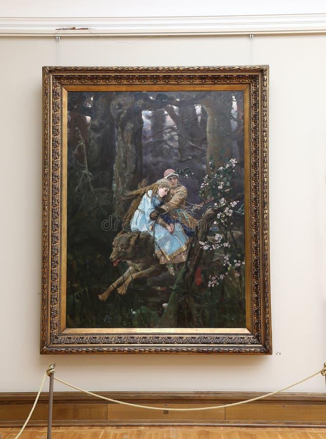 De Galerij van Tretyakov van de staat is een kunstgalerie in Moskou, Rusland, de belangrijkste opslagruimte van Russische fijne k stock foto