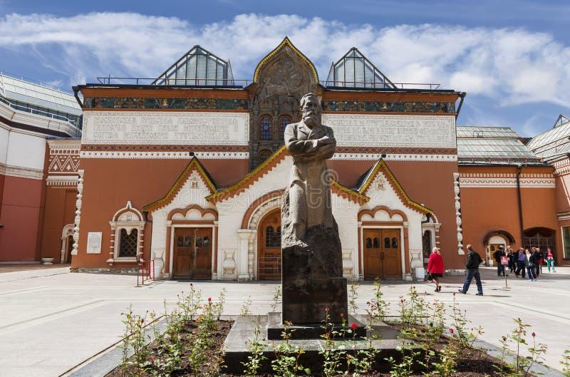 De Galerij van Tretyakov van de staat in Moskou stock foto