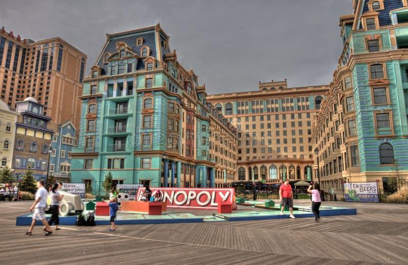 De Gang van de Raad van Atlantic City vóór Zandige Orkaan royalty-vrije stock afbeelding