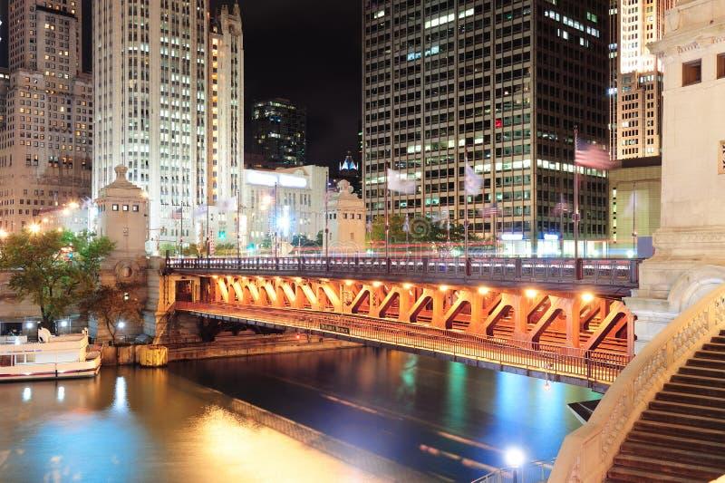 De Gang van de Rivier van Chicago royalty-vrije stock foto