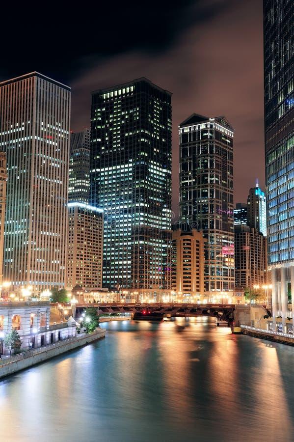 De Gang van de Rivier van Chicago stock afbeelding