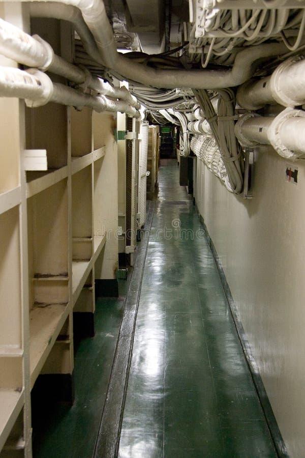 De Gang van het Vliegdekschip royalty-vrije stock afbeelding
