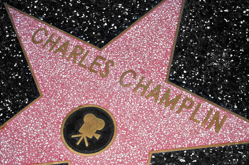 De Gang van Hollywood van Bekendheid, Los Angeles, Verenigde Staten stock afbeelding
