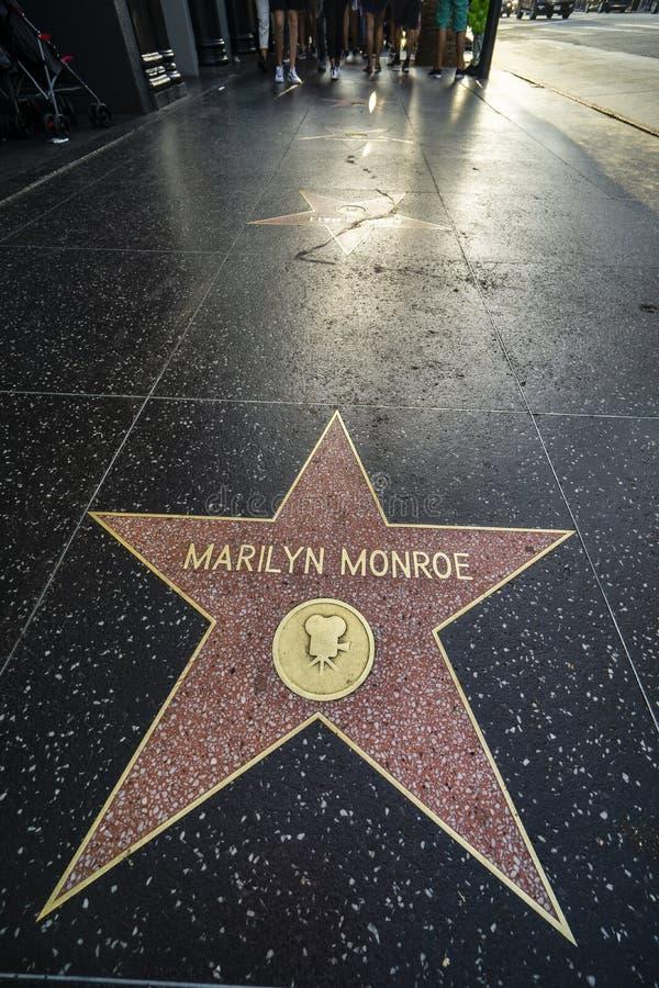 De Gang van Los Angeles Hollywood van Bekendheid royalty-vrije stock foto