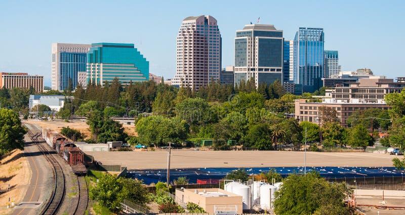 De Gangen van Sacramento, de schoten van Californië, de V.S. stock afbeelding