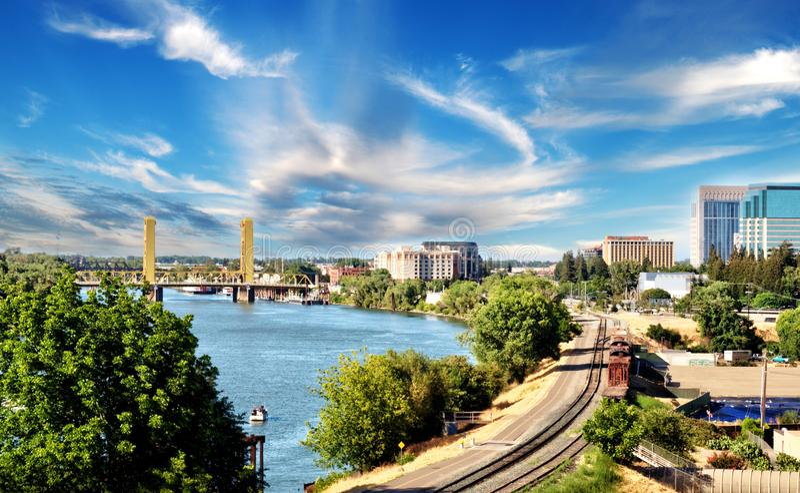 De Gangen van Sacramento, de schoten van Californi?, de Verenigde Staten van Amerika royalty-vrije stock foto