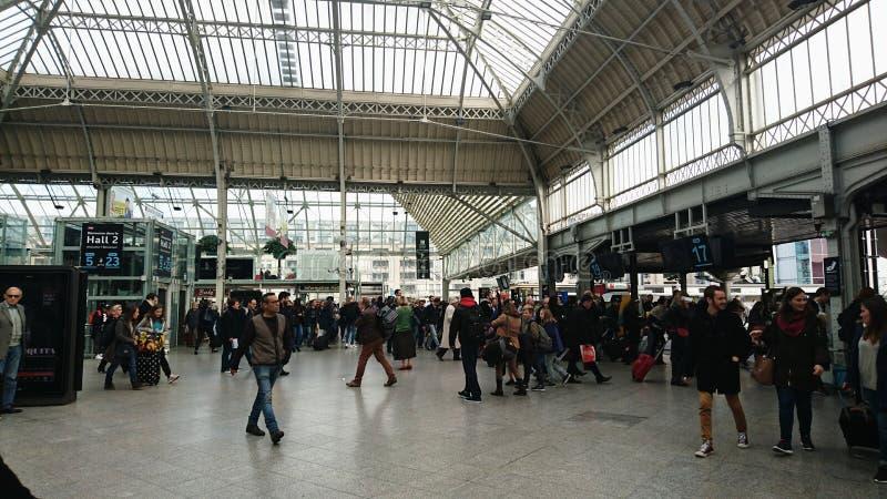 de gare lyon fotografering för bildbyråer