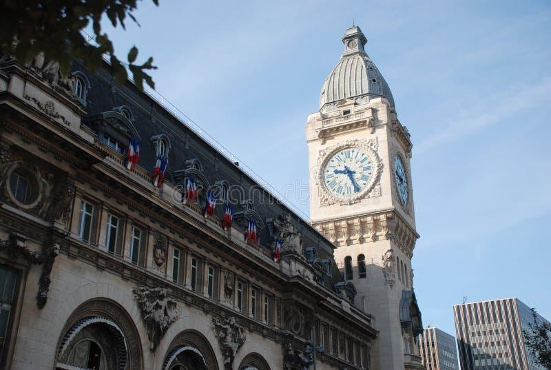 de Gare Lyon Paris fotografia stock