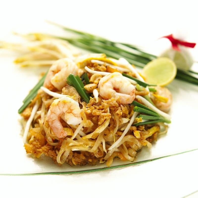 De garnalen vullen Thai op stock foto