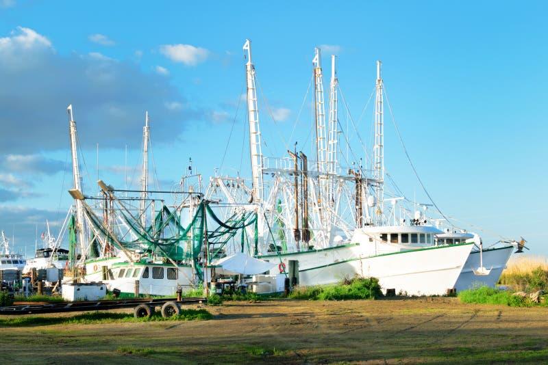 De Garnalenboot van Louisiane stock foto