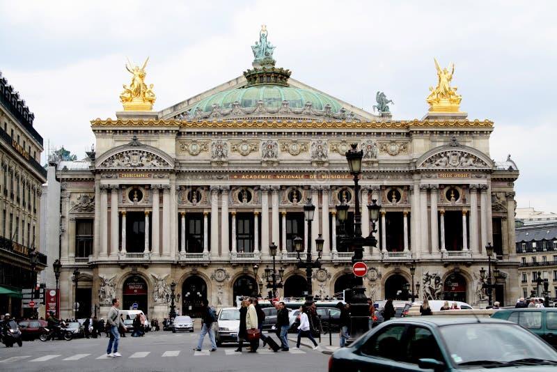 de garnier歌剧巴黎 免版税图库摄影
