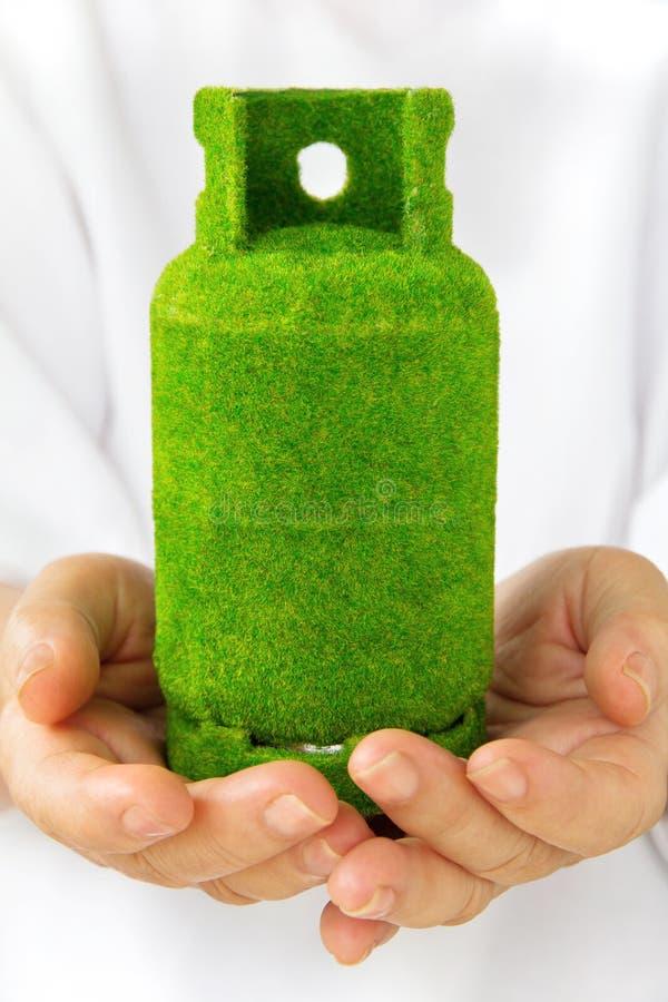 De gashouder van Eco stock fotografie