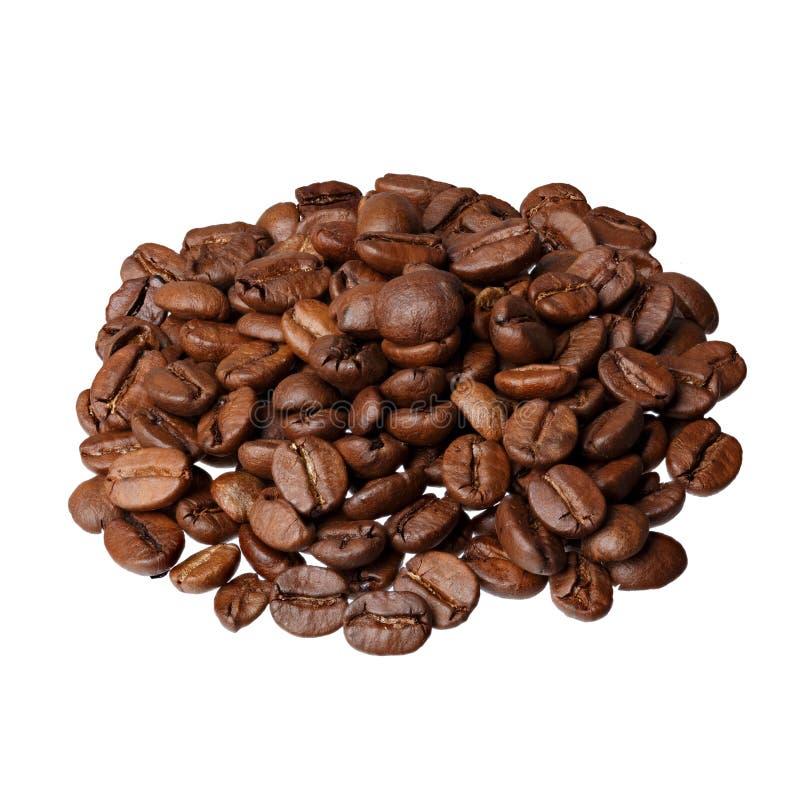 De gastronomische koffie van Brazilië Santos op witte achtergrond stock fotografie