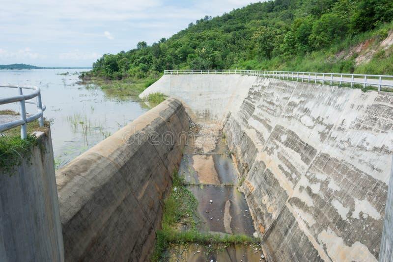 De gateway van het damwater stock afbeelding