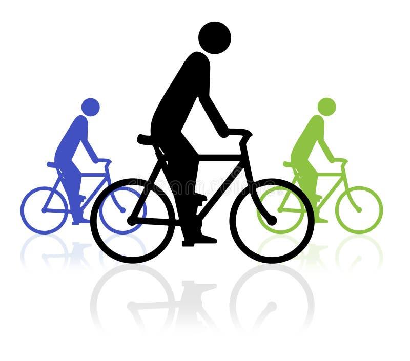 De Gebeurtenis van de fiets vector illustratie