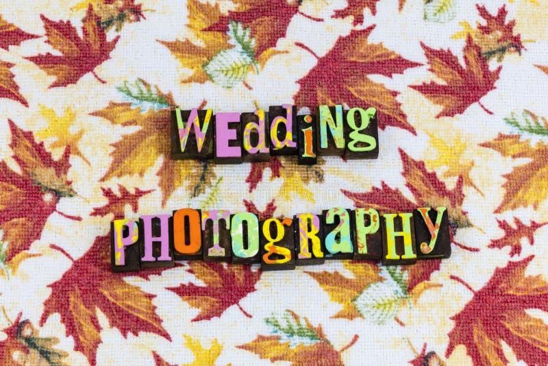 De gebeurteniszaken van de huwelijksfotografie stock afbeelding