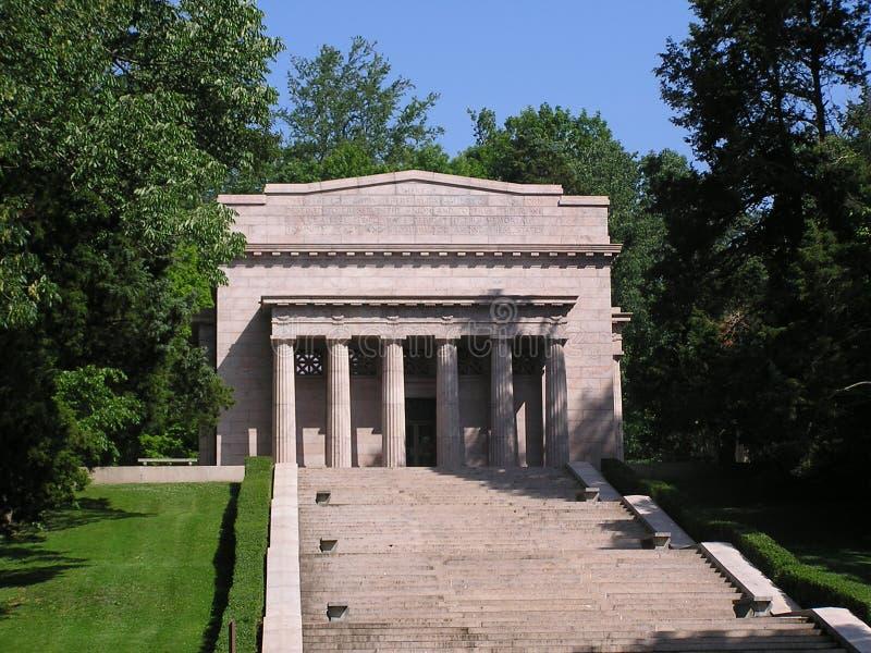 Download De Geboorteplaats Van Lincoln Stock Foto - Afbeelding bestaande uit republikeins, monument: 288630