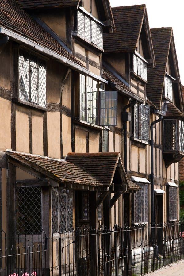 De Geboorteplaats van Shakespeare stock afbeeldingen
