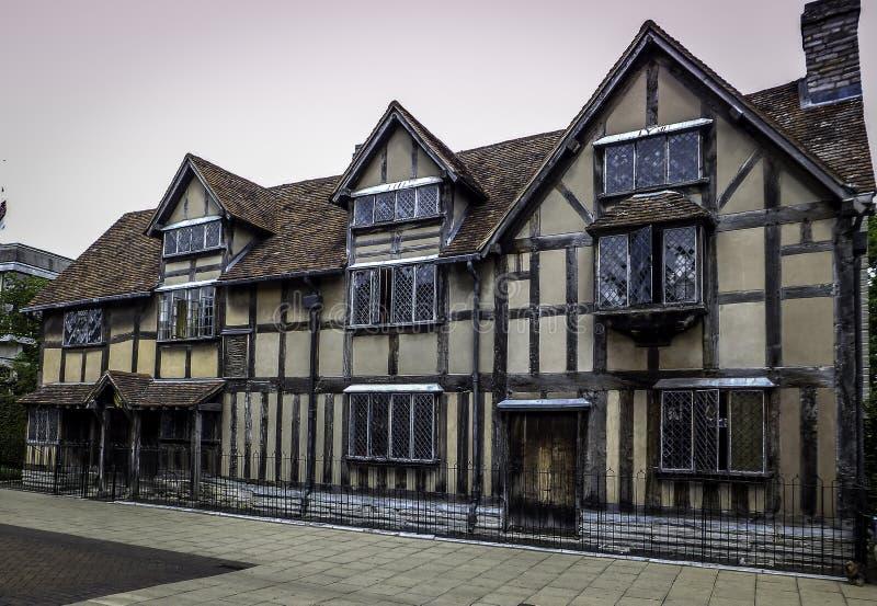 De geboorteplaats van William Shakespeare royalty-vrije stock afbeelding