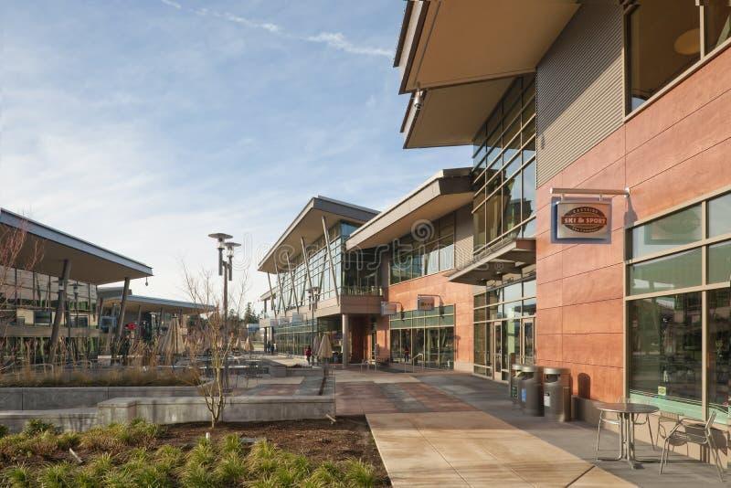De gebouwen van de Campus van Microsoft stock foto's