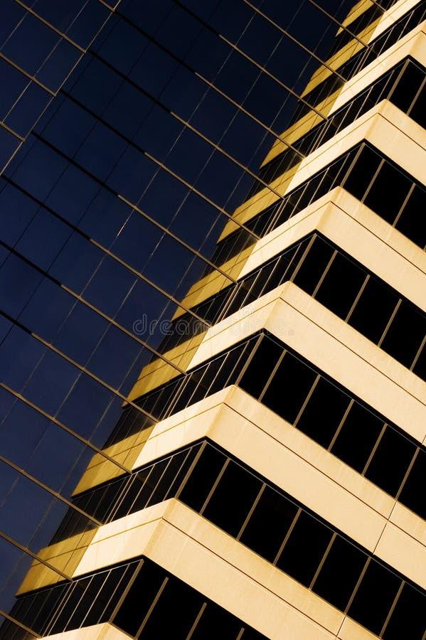 De gebouwen van de stad royalty-vrije stock foto's