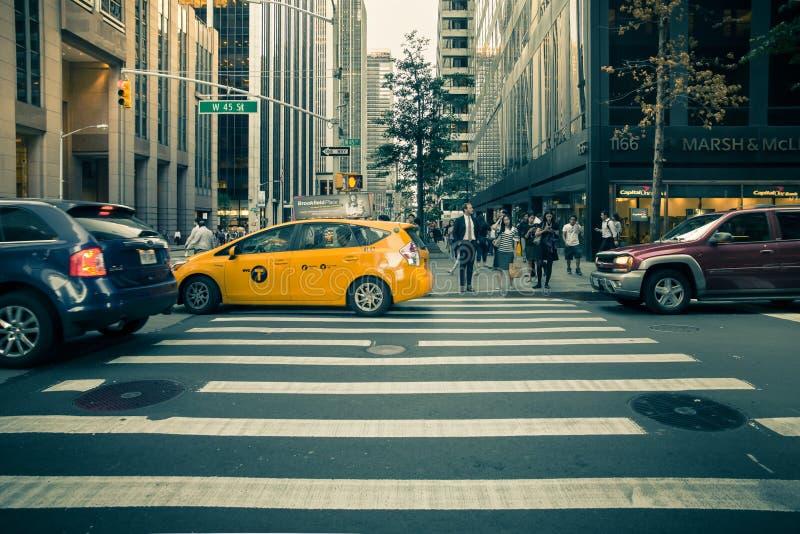 De Gebouwen van de Stad van New York royalty-vrije stock foto