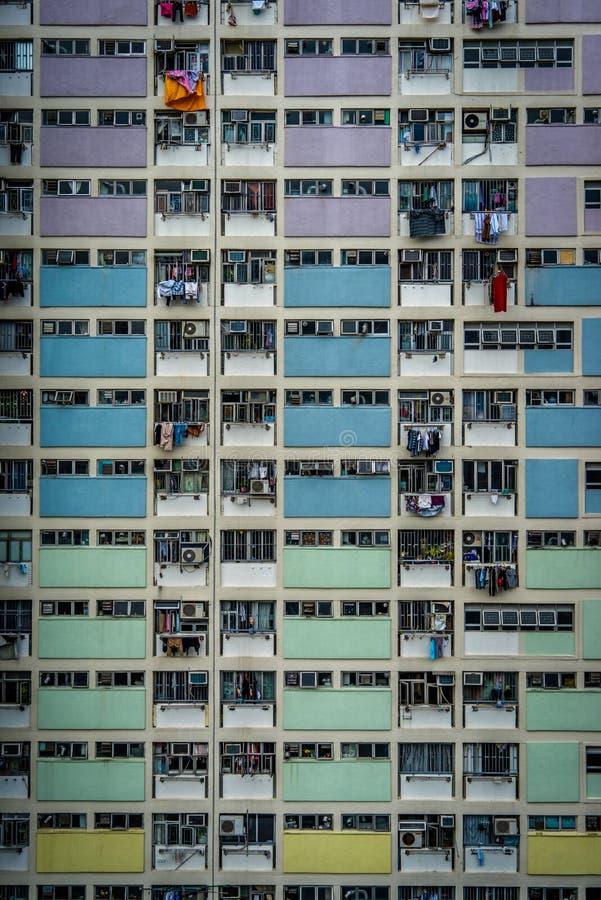 De gebouwen van Hongkong royalty-vrije stock fotografie