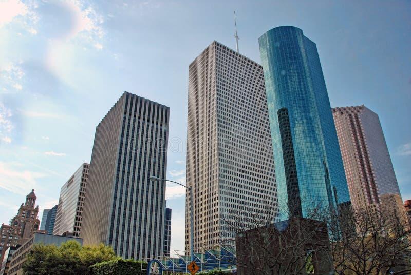 De Gebouwen van Houston, Texas stock foto